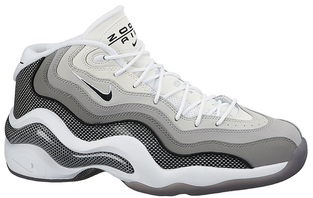 Nike Air Zoom Flight '96 Matte Silver/Black-Light Charcoal-Neutral Grey