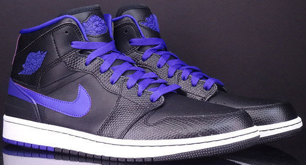 Air Jordan 1 Retro '86 Black/Dark Concord-White
