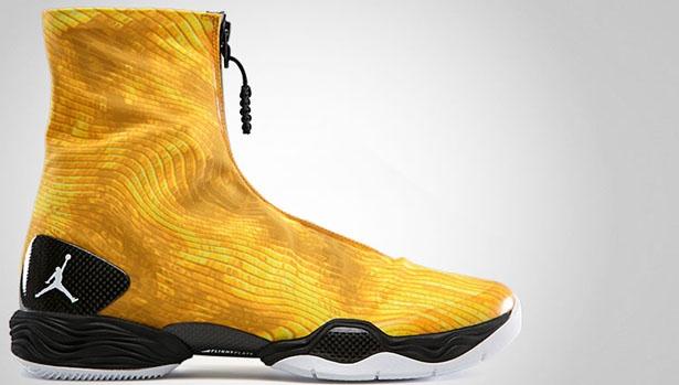 Air Jordan 28 Camo Tour Yellow