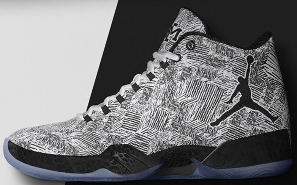 Air Jordan XX9 BHM White/Black
