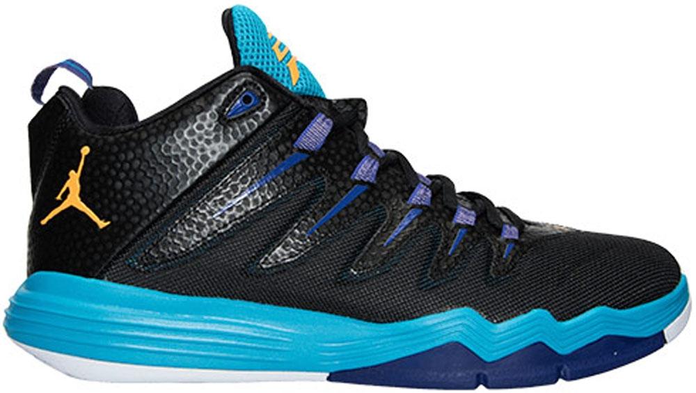 Jordan CP3.IX Black/Laser Orange-Blue Lagoon
