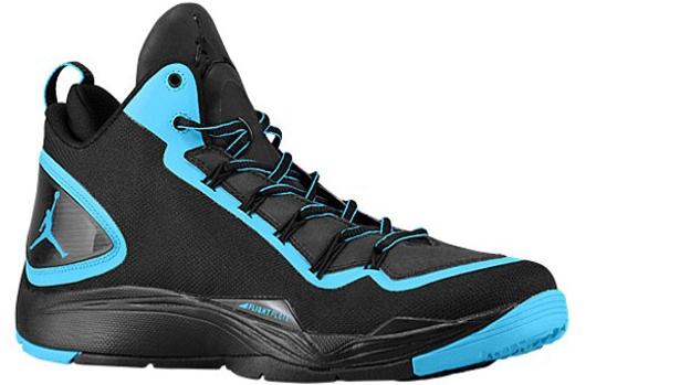 Jordan Super.Fly 2 PO Black/Dark Powder Blue