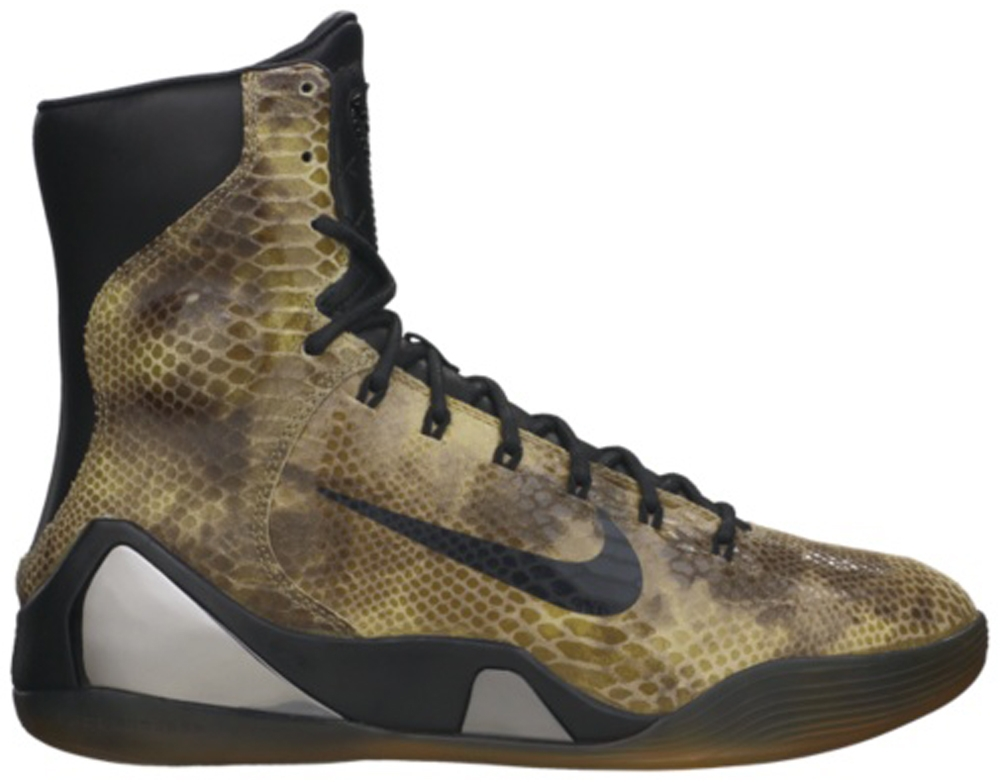 Nike Kobe IX High EXT QS Black/Black
