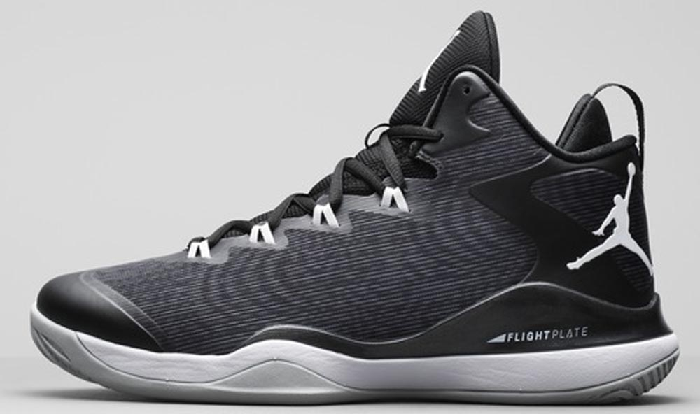 Jordan Super.Fly 3 Black/White-Anthracite-Dark Grey