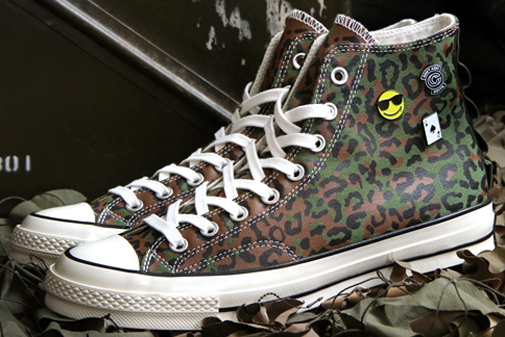 Converse Chuck Taylor All Star 1970s Hi Brown/Olive-Black
