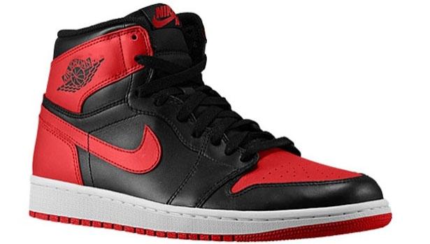 Air Jordan 1 Retro High OG Black/Varsity Red