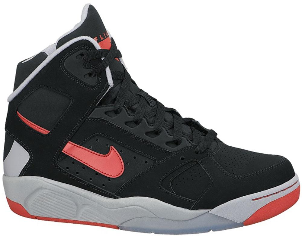 Nike Air Flight Lite High Black/University Red