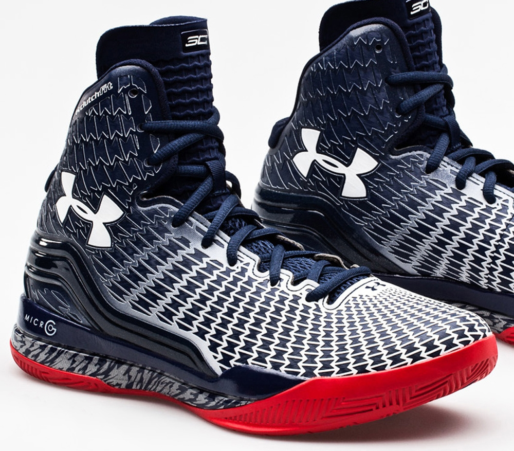 Under Armour Micro G Clutchfit Drive Blue/White-Red
