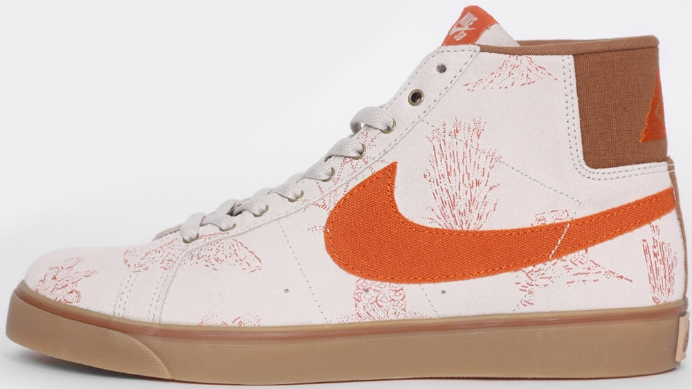 Nike Blazer Mid Premium SE Canvas SB Light Bone/Tuscan Rust-Ale Brown-Gum Light Brown