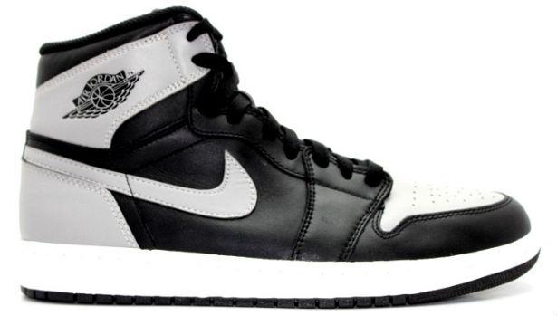 Air Jordan 1 Retro High OG Shadow Black/Soft Grey