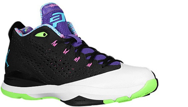 Jordan CP3.VII Black/Gamma Blue-White-Flash Lime