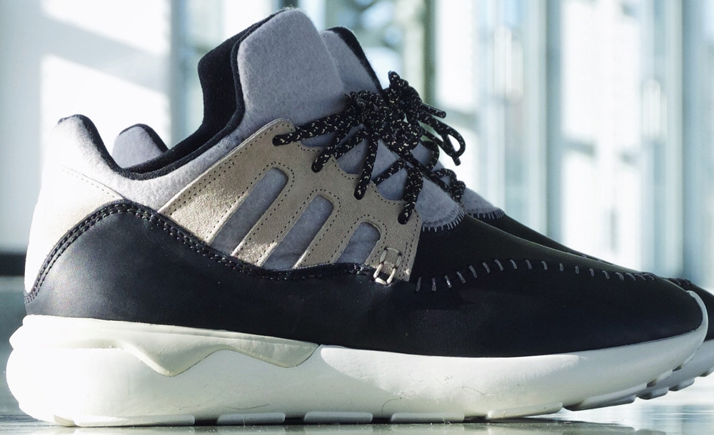 adidas Consortium Tubular Moc Runner Black/Grey-White