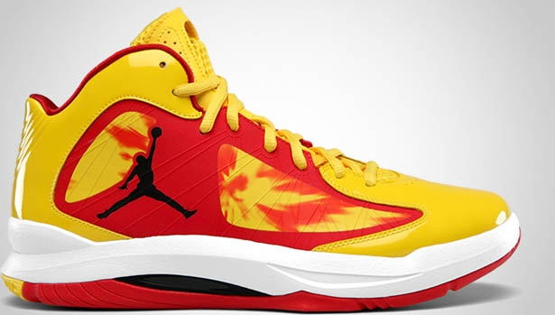 Jordan Aero Flight Tour Yellow/Black-Gym Red-White
