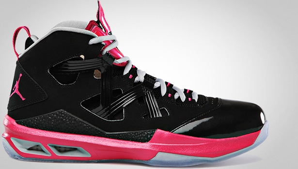 Jordan Melo M9 Black/Vivid Pink-Wolf Grey