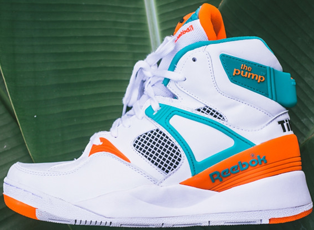 Reebok The Pump Certified Grey/Orange-Timeless Teal