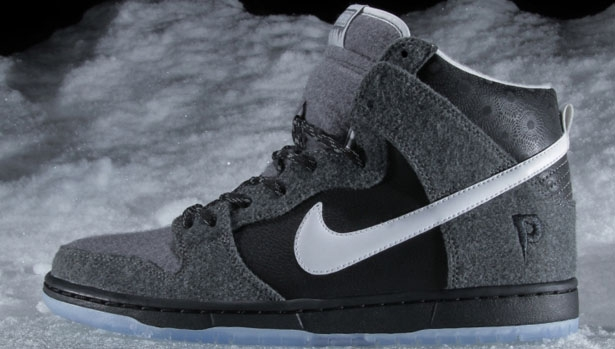 Nike Dunk High SB Premier SE Dark Charcoal/White-Light Graphite