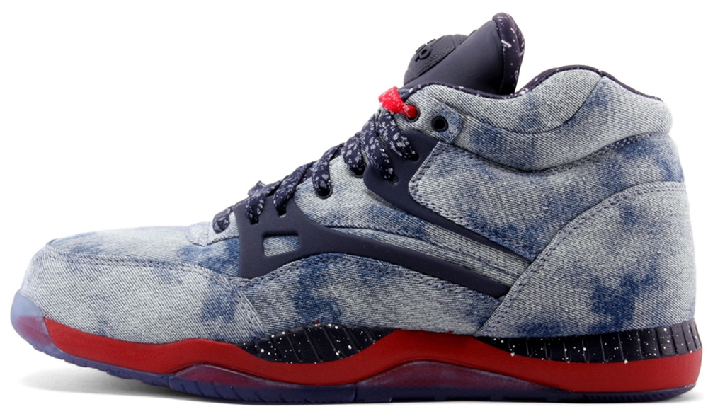 Reebok AXT Pump Light Denim/Navy-Red