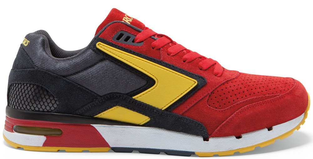 Brooks Fusion High Risk Red/Anthracite-Lemon