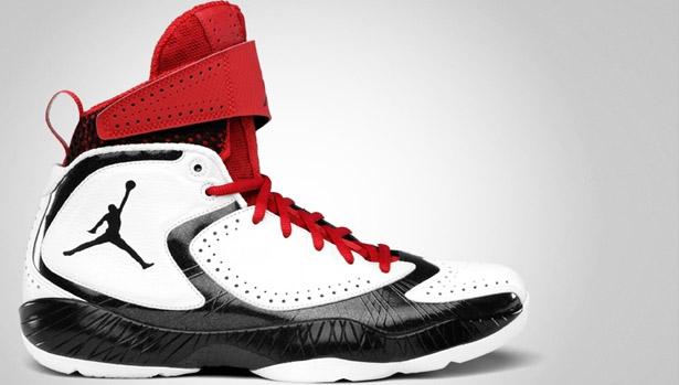Air Jordan 2012 E White/Black-Varsity Red