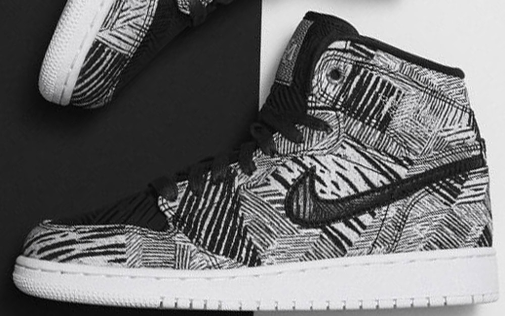 Air Jordan 1 Retro High BHM GS White/Black