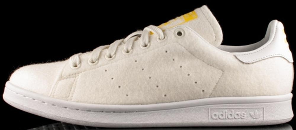 adidas Originals Stan Smith White/Yellow