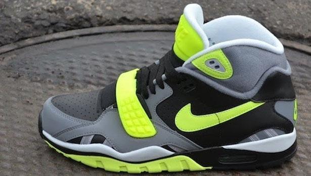 Nike Air Trainer SC II Black/Volt-Cool Grey-Pure Platinum