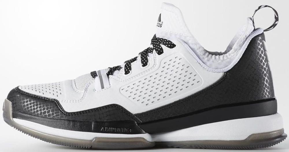 adidas D Lillard 1 Running White/Core Black