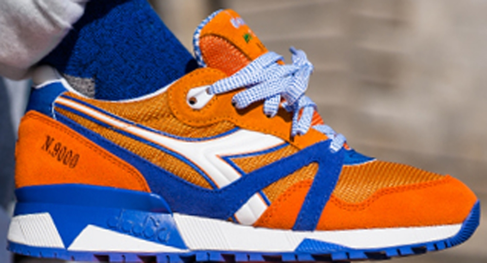Diadora N.9000 Orange/Royal-White