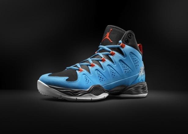 Jordan Melo M10 Dark Powder Blue/Team Orange-Black-White