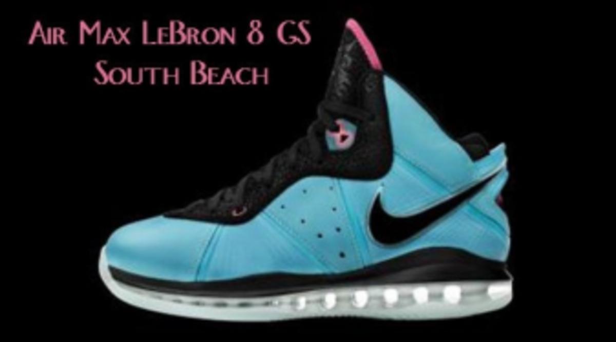a042263cd13844 Lebron 11 South Beach On Feet Gs Cheap Air Max 1 Size 3