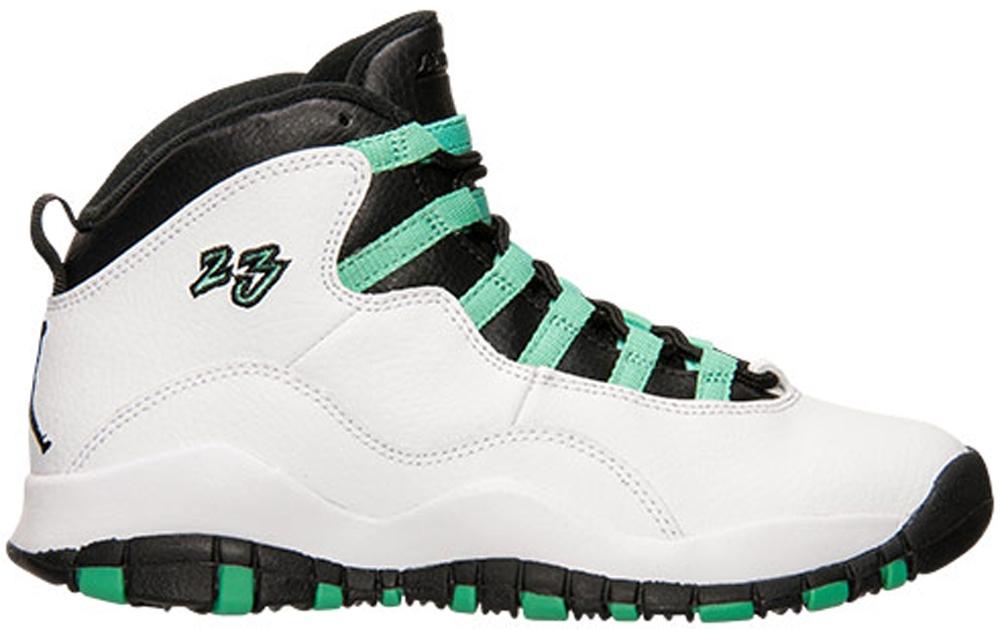 Air Jordan 10 Retro Girls White/Verde-Black-Infrared 23