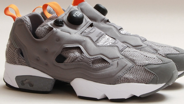 Reebok Instapump Fury Foggy Grey/White-Black-Orange