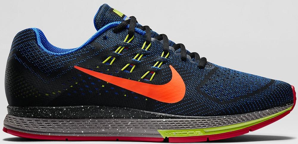 Nike Air Zoom Structure 18 Black/Antarctica-Hyper Cobalt-Hyper Crimson