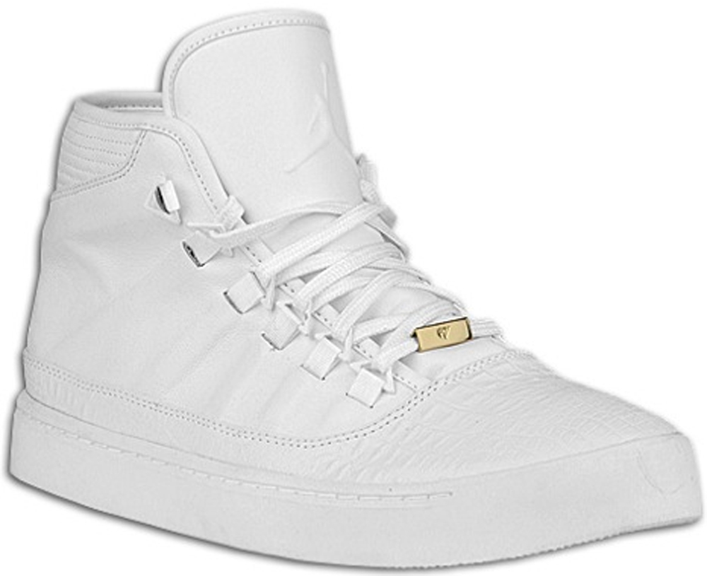 Jordan Westbrook 0 White/Metallic Gold