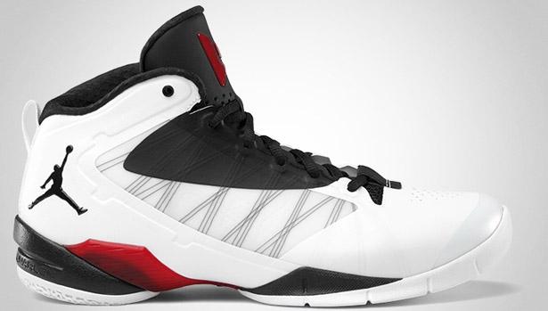 Jordan Fly Wade II EV White/Metallic Silver-Gym Red-Black