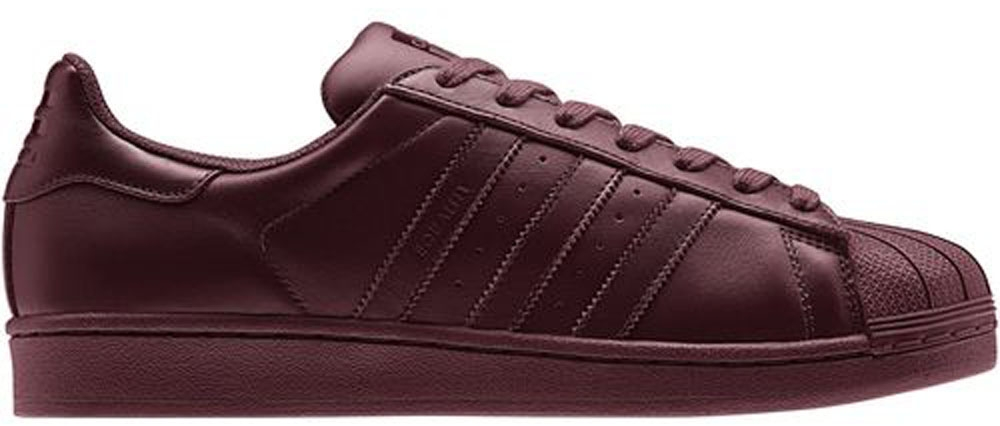 adidas Superstar Solid Red/Solid Red-Solid Red