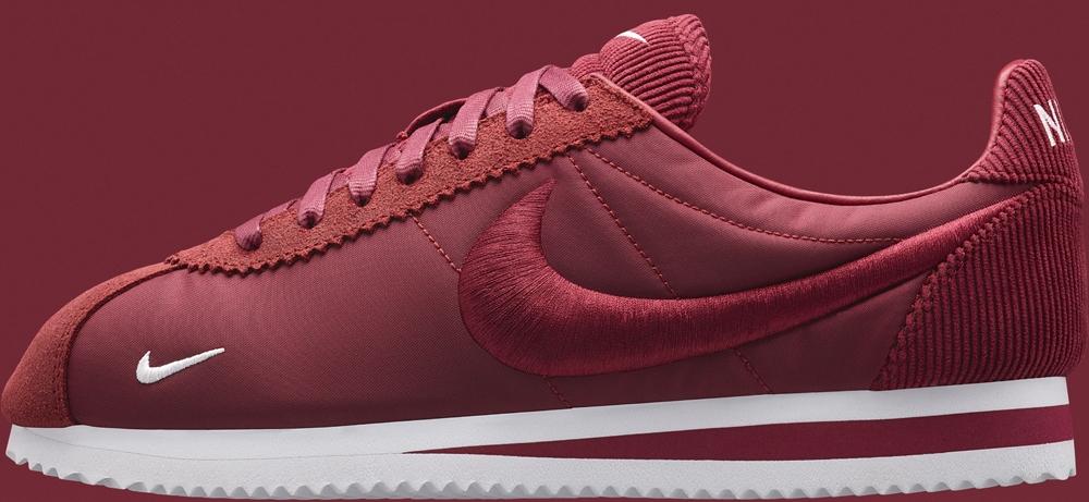 NikeLab Cortez Textile Team Red