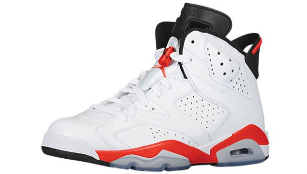 Air Jordan 6 Retro White/Infrared-Black