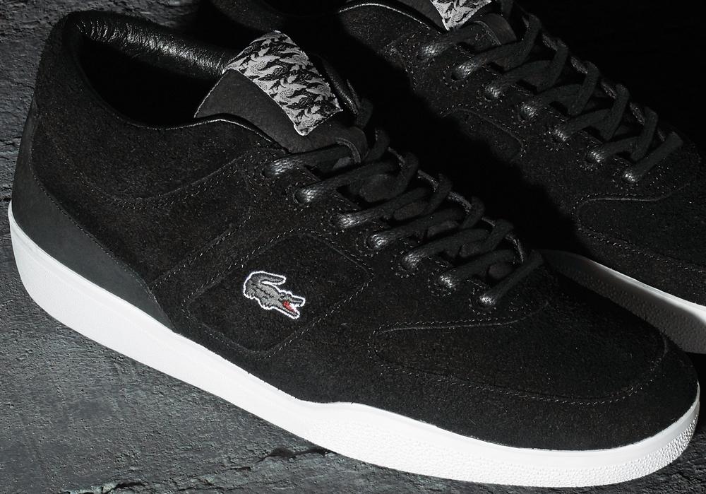 Footpatrol x Lacoste Halfcourt Black/White