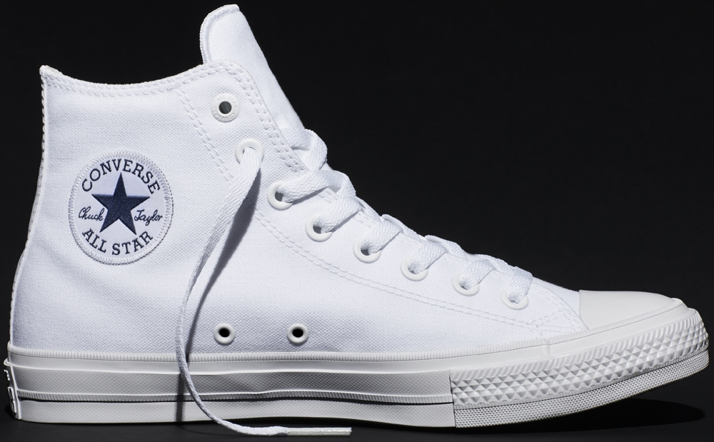 Converse Chuck Taylor All-Star II Hi Optic White/White