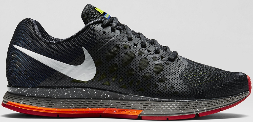 Nike Air Zoom Pegasus 31 Black/Hyper Cobalt-Fierce Green-Antarctica