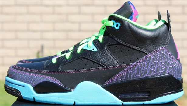 Jordan Son Of Mars Low Black/Club Pink-Gamma Blue-Court Purple