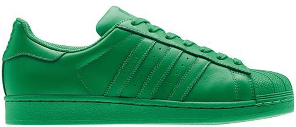 adidas Superstar Green/Green-Green