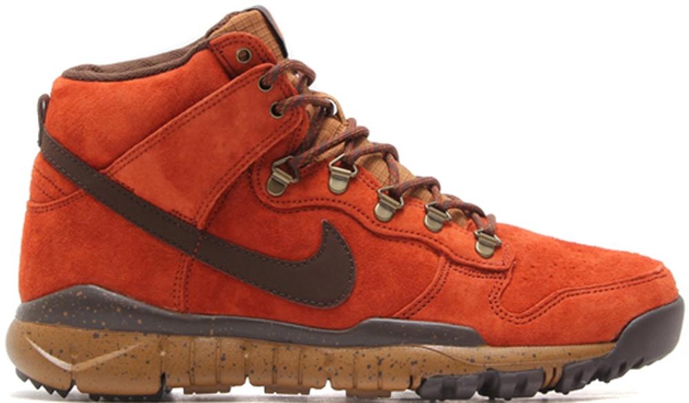 Nike Dunk High OMS SB Rugged Orange/Ale Brown-Baroque Brown