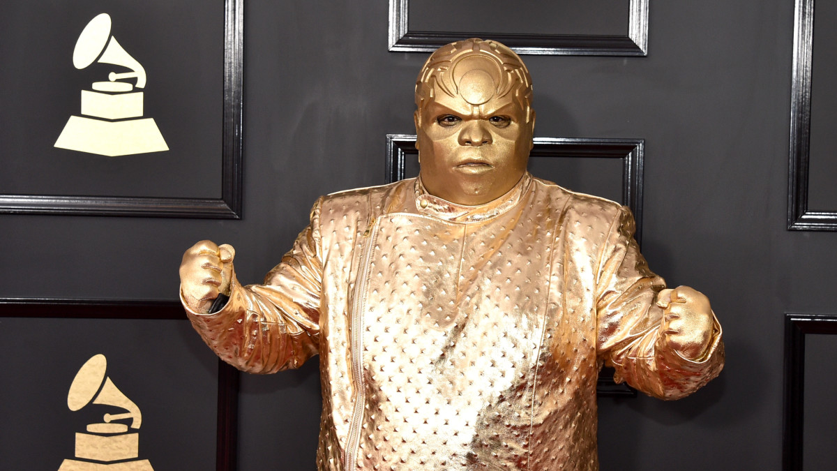 Ceelo Green Comments On The Bizarre Gold Costume He Wore