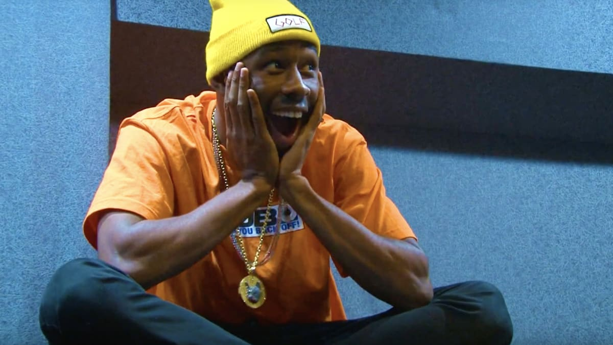 Watch Tyler, The Creator's Full 42-Minute 'Cherry Bomb