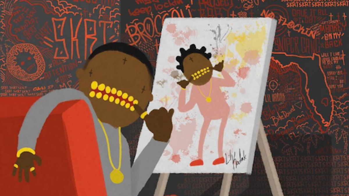 Image result for kodak black painting pictures