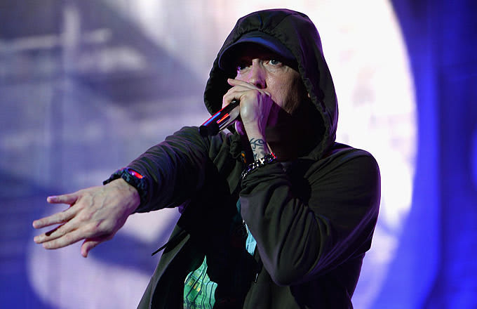 Is Eminem teasing his new album title with a fake drug ad?