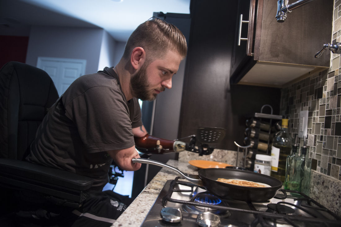 vet will fulfill lifelong dream of becoming a chef after double vet will fulfill lifelong dream of becoming a chef after double arm transplant